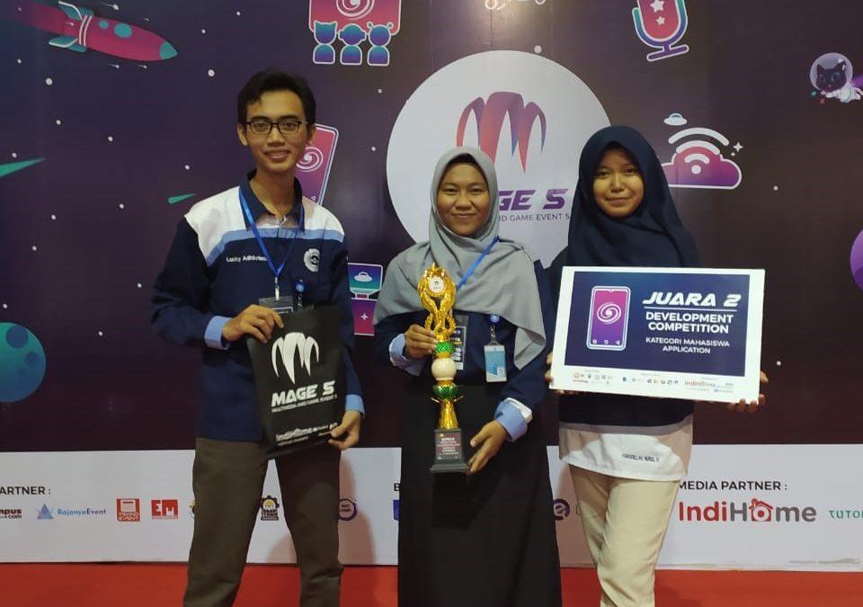 Mendominasi di Final, Tim AMCC Universitas Amikom Yogyakarta Juara MAGE 5 di Institut Teknologi Sepuluh November Surabaya