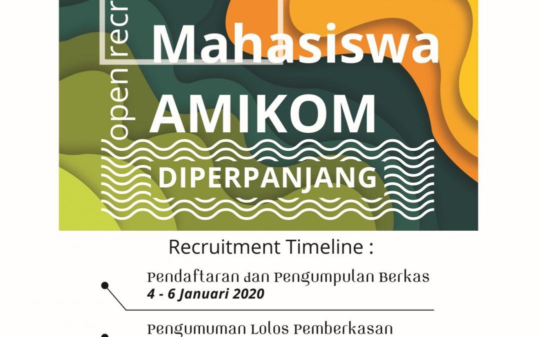 Open Rekruitment STAFF BEM KM AMIKOM