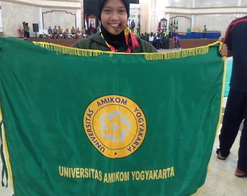 Mahasiswi Universitas Amikom Yogyakarta Raih Prestasi di Kejurnas Pencak Silat Piala Presiden