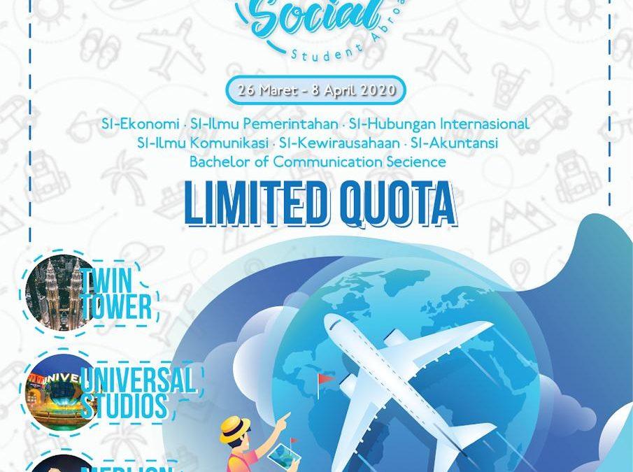 Student Exchange Singapura Malaysia FES SA 2020