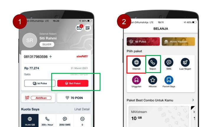 Petunjuk Aktivasi Kuota Telkomsel