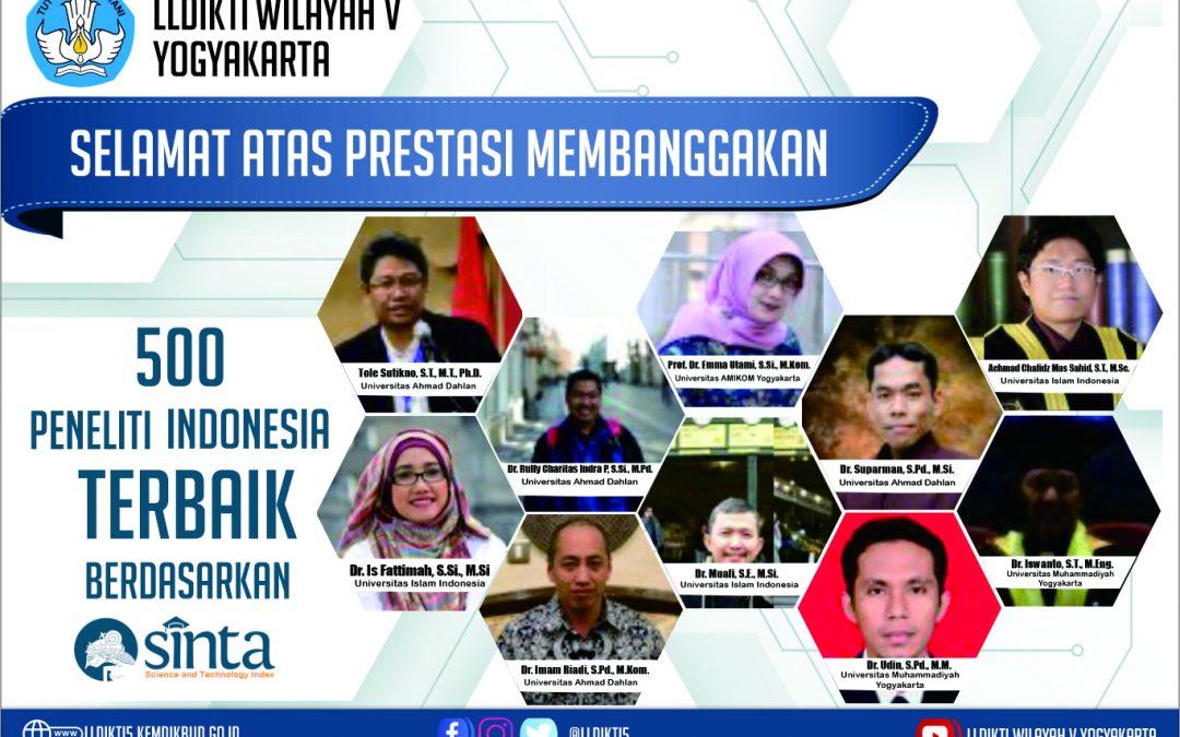 Prof. Ema Utami, Dosen AMIKOM salah satu Peneliti Terbaik di Wilayah V Yogyakarta
