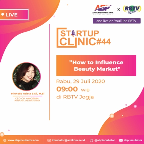 Startup Clinic #44 : How to Influence Beauty Market