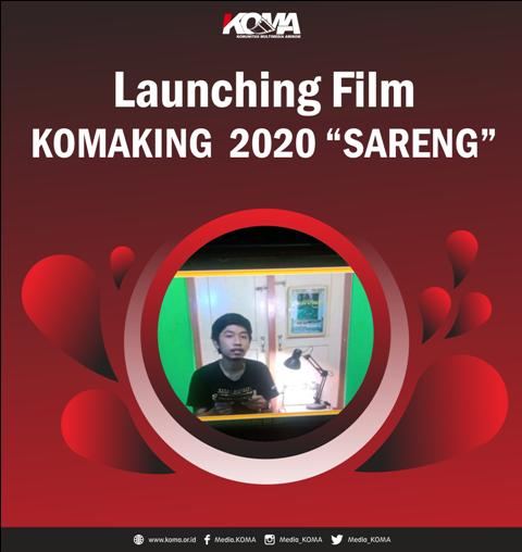 """Launching Film KOMAKING 2020 """"Sareng"""""""