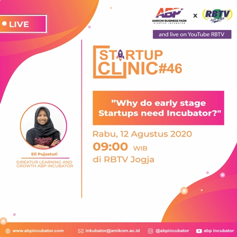 Startup Clinic #46 : Why do early stage Startups need Incubator?