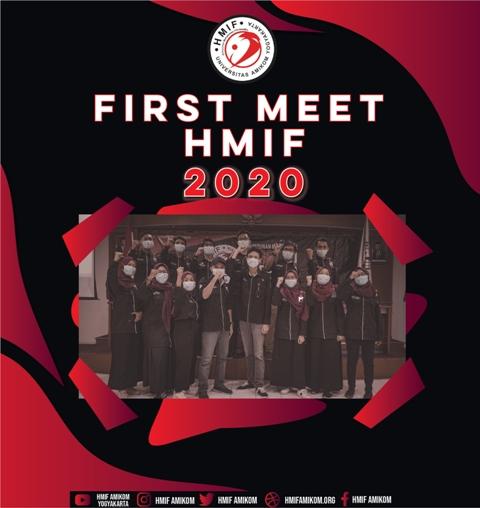 First Meet HMIF Universitas Amikom Yogyakarta
