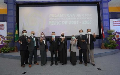 Pelantikan Rektor Universitas Amikom Yogyakarta periode 2021 – 2025