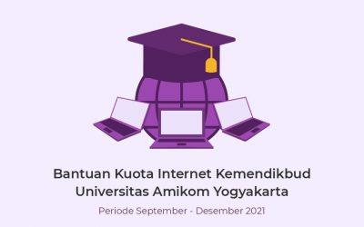 Bantuan Kuota Internet Kemendikbud Universitas Amikom Yogyakarta