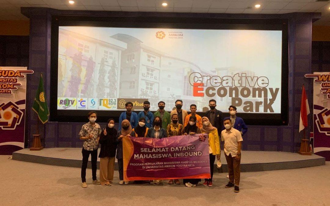 Universitas Amikom Yogyakarta Sambut Mahasiswa Inbound Program Pertukaran Mahasiswa MBKM